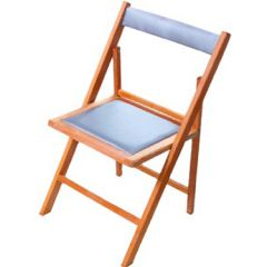 thumbs silla madrid tapizada 0 Sillas plegables tapizadas