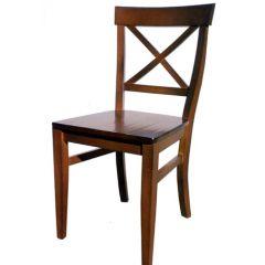 thumbs cruz 150 Silla de comedor con asiento de madera